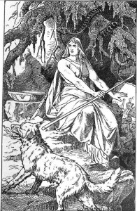 """""""Hel"""" by Johannes Gehrts (1889)"""