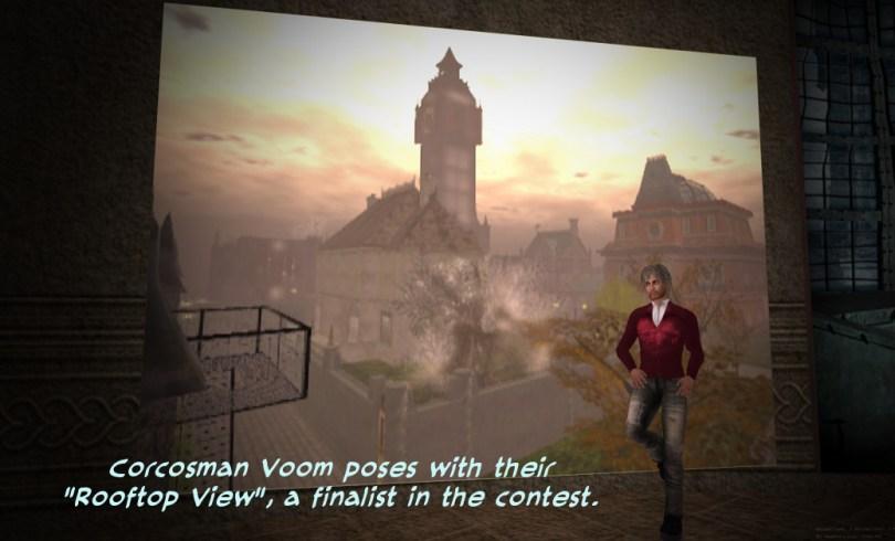 """Corcosman Voom's """"Rooftop View"""""""