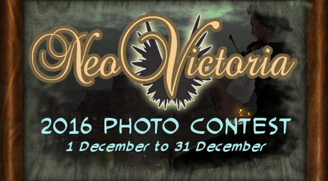 Invitation to the NeoVictoria 2016 Photo Contest Award Party