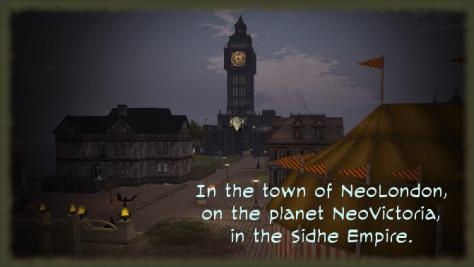 NeoLondon Town