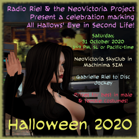Halloween 2020 Square Poster