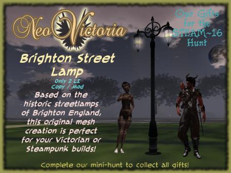 Brighton Street Lamp