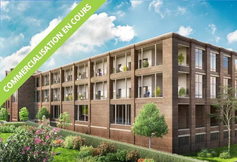 Programme immobilier Neoximo Imagin à Roubaix Beaumont