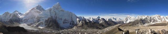 Вид на Эверест с вершины Кала Паттар