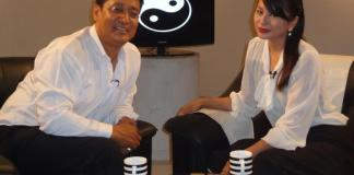 Malvika Subba with Vijay Lama Black and White Program