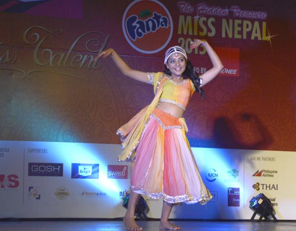 Miss Nepal 2015 Talent Round 3