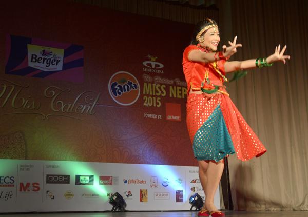 Miss Nepal 2015 Talent Round 4