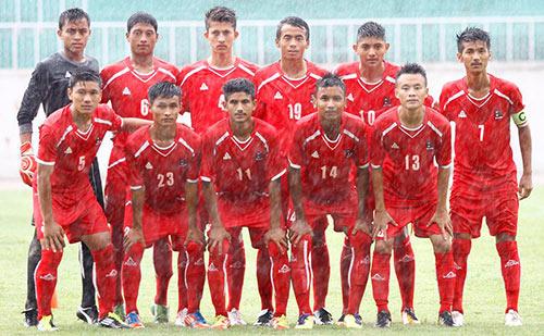 Nepal Team for Saff under 16 2013