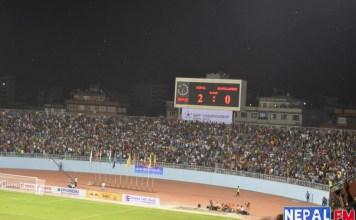 Nepal vs Bangladesh SAFF 2013 Game 3