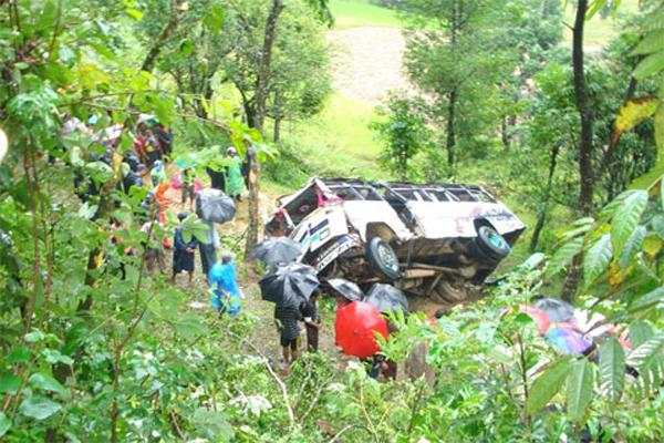 Palpa Bus Accident