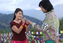 Rajesh Hamal and Karishma Manandhar