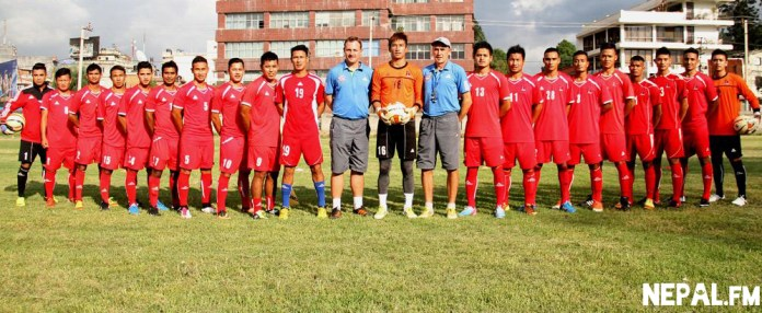 Team Nepal for Saff 2013 Players
