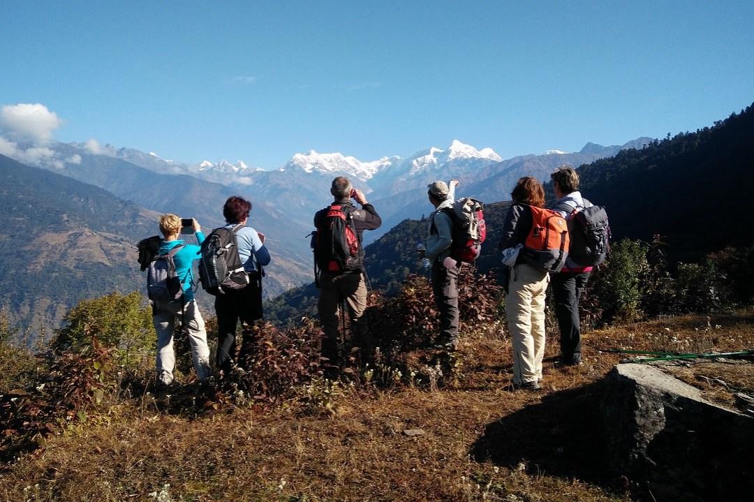 trekking de pikey peak au Népal