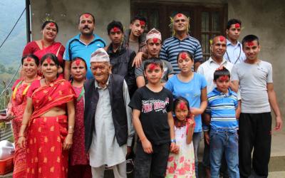 Les liens familiaux au Népal