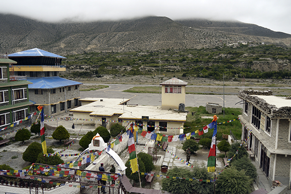 Jomsom airport Photo by sarjurijal.com.np