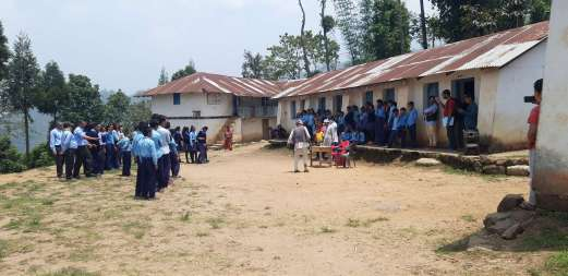 Street drama about child friendly local governence-K300