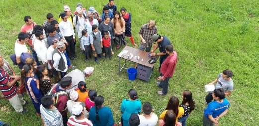 Water testing practice at Namsaling with community (1)-K300
