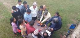 Water testing practice at Namsaling with community (5)-K300