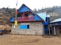 New house after big earthquake
