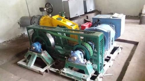 Micro hydro turbine installation_n