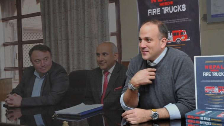 fire truck nepal