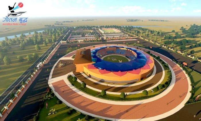 gautam buddha cricket stadium