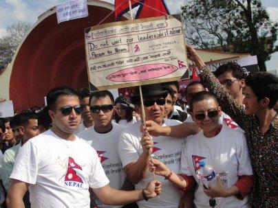 Ani Choying Dolma and Nima Rumba at Nepal Unites Event