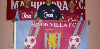 Aston Villa Supports Nepali Footballers of Machhindra FC