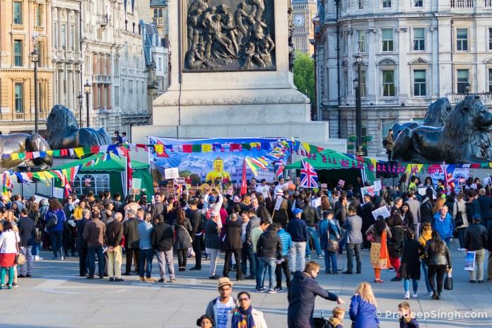 Buddha Jayanti Trafalgar Square London-7820