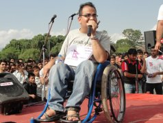 Differently Abled at Nepal Unites Event