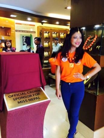 Evana Manandhar Miss Nepal 2015 2
