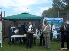 Awarding Members at Programme