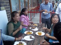 Nepali Food at Gulmi Samaj Uk Event