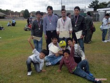 The winning team of Volleyball Competition - Gulmi Samaj Uk