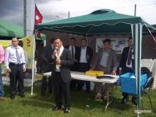 Gulmi Samaj Uk Chairman Mr. Om Prasad Thapa