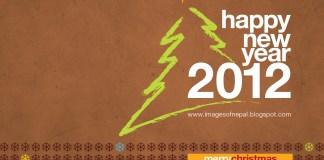 Happy New Year 2012 Wallpaper 1