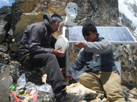 Highest Webcam Installed on Everest, Nepal