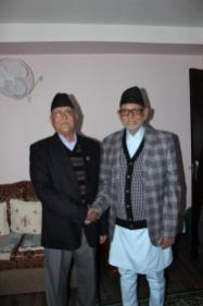 KP Oli Minister Nepal CPN UML With Sushil Koirala a