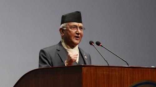 KP Sharma Oli Speaking at Assembley Nepal