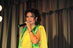 Komal Oli celebrating Teej in London 2