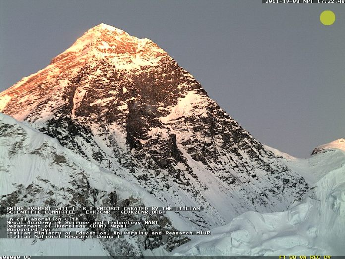 Mt Everest Goes live on Internet
