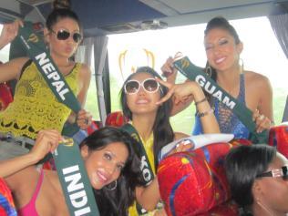 Nagma Shrestha in Miss Earth 2012 13
