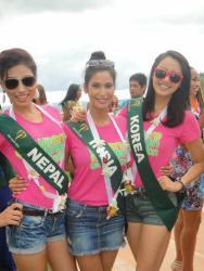 Nagma Shrestha in Miss Earth 2012 2