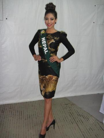 Nagma Shrestha in Miss Earth 2012 21