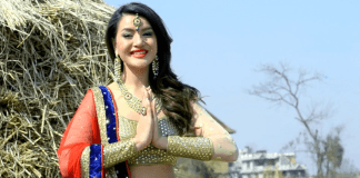 Shristi Shrestha Cover Shoot for Healthy life Magazine