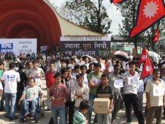 Nepal Unites Demanding Constitution