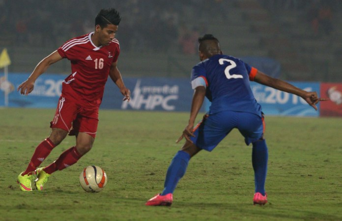 Nepali Player win against India in South Asian Games 2016