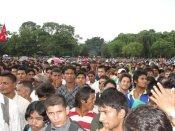 Participants at Nepal Unites Event