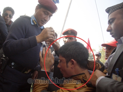 Prachanda Slapped