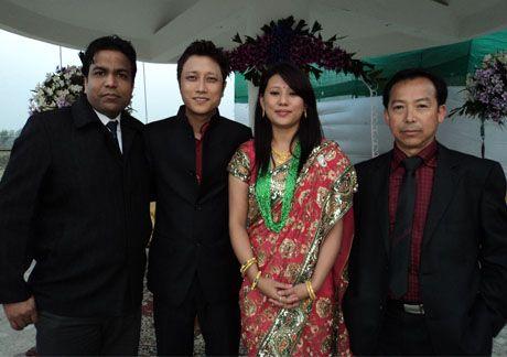 Prashant Tamang Wedding